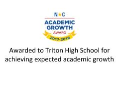 NC Academic Growth Award
