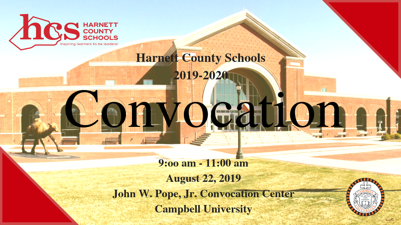 2019 Convocation - August 22, 2019